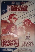 Image of Blackbox vs Iron Shiek Signed Poster by Blackbox and Iron Shiek