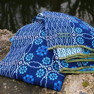 Image of coldatnight blanket in indigo blue