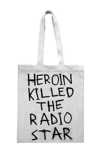Image of Heroin Killed The Radio Star (Tote Bag)