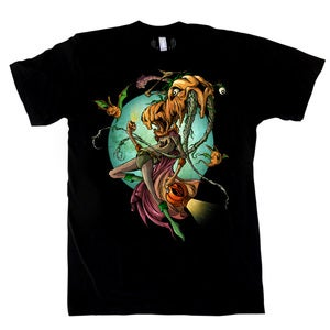 Image of Orange Lantern | by Alex Pardee &amp; Greg &quot;Craola&quot; Simkins | T Shirt