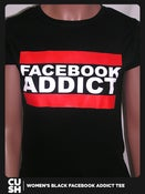 Image of Facebook Addict Women (Black)