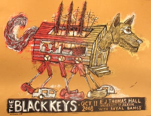 Image of The Black Keys Akron 2008 EJ Thomas Hall