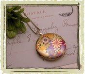 Jewelry: &quot;Colorful flower&quot;