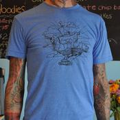 Image of Men's Official Pattycake T-shirt Blue