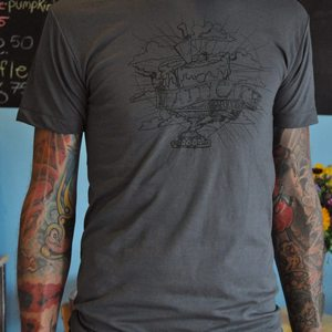 Image of Men's Official Pattycake T-shirt Grey