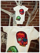 Image of Alexander Henry Skulls |Onesie