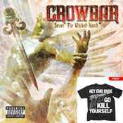 Image of CROWBAR CD + HEY EMO DUDE SHIRT