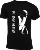 "Image of ""Scarface"" T-Shirt (Two Sided) White on Black"