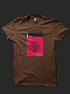 Image of I Protect Trees Limited Edition T-shirt