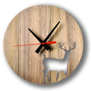 Image of Stag wall clock
