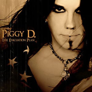 Image of Piggy D. 'The Evacuation Plan' CD -Unsigned