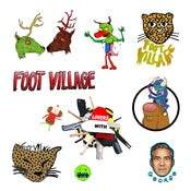 "Image of FOOT VILLAGE ""lovers with iraqis"" 7"""