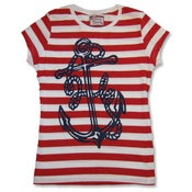 Image of Ahoy Matey Anchor Tee