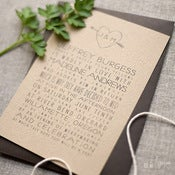 Image of Faux Bois Invitation Set