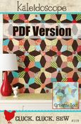Image of Kaleidoscope Pattern # 119, PDF Pattern