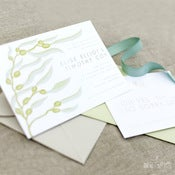 Image of Mermaid Kelp Invitation Set