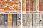 Image of Faux Flooring Rugs - 8 STYLES - 46inx66in - Photographer MUST HAVE - Photography Prop