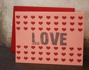 Image of LOVE note cards