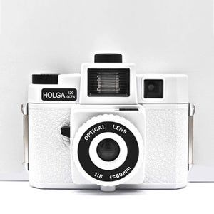 Image of Holga 120 GCFN Camera (White)