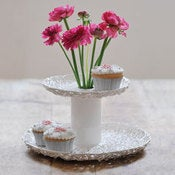 Image of 2 Tier Tangled Cupcake Stand / Vase