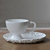 Image of Tangled Teacup and Saucer