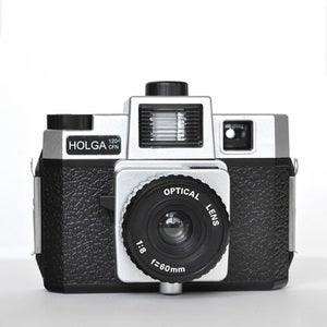 Image of Holga 120 CFN Camera (Silver Black)