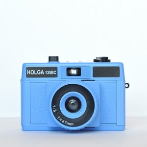 Image of Holga 135 BC Camera (Blue)