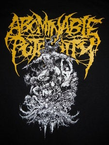 Image of ABOMINABLE PUTRIDITY T SHIRT 2