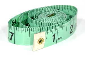 Image of Tape measure - metric and imperial - to take your measurements!
