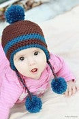 Image of Basic Earflap Beanie crochet pattern