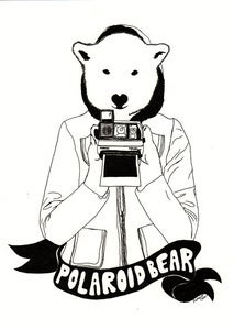 Image of Polaroid Bear (original)