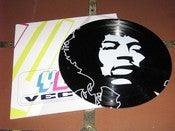 Image of Printed 12&quot; record. Music Legends (Hendrix Pictured).