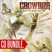 "Image of CROWBAR ""Sever The Wicked Hand"" CD + free CD"