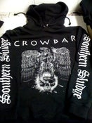 "Image of Crowbar ""Southern Sludge"" 3 sided Hooded Sweatshirt **2XL&3XL**"