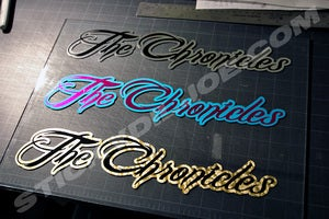 Image of The Chronicles IV Decal