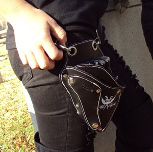 Image of Hair Royalty-Leather Tool Holster