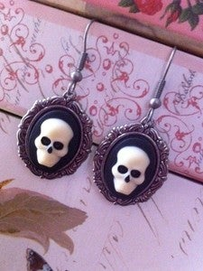 Image of Skull Earrings - Small