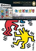 Image of KEITH HARING DANCING DOGS WALL STICKERS