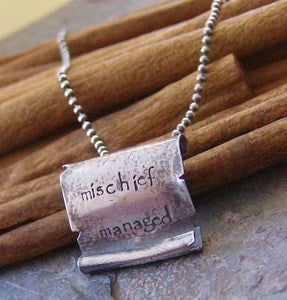 Image of Mischeif Managed... hand stamped Marauders map