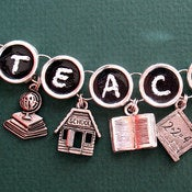 Image of School Teacher Charm Bracelet