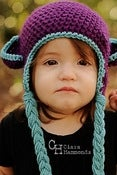 Image of Monkey Earflap hat