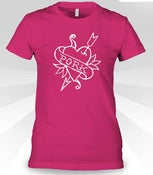 Image of &lt;3 Pork - Womens - Pink or Gray