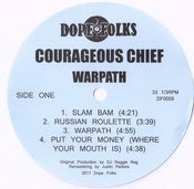 Image of COURAGEOUS CHIEF &quot;WARPATH&quot; EP *****SOLD OUT*****