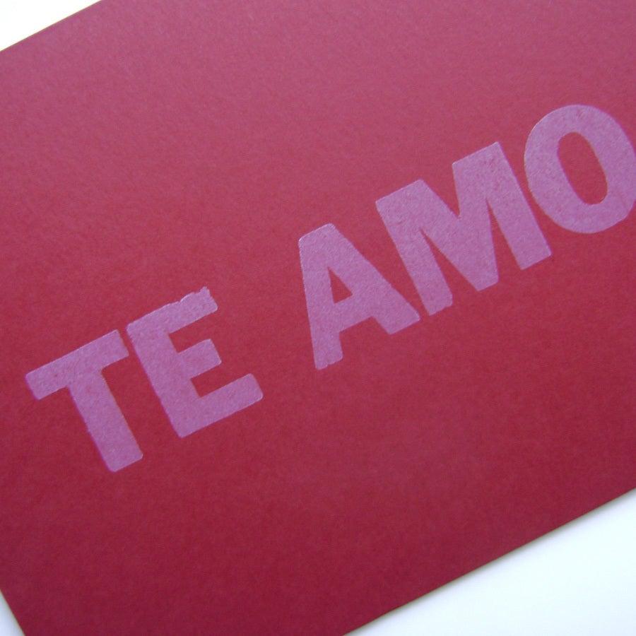 Toneladas de imágenes que dicen: Te amo/I love you
