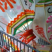 Image of Painted Chinese Lanterns