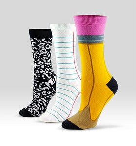 ashidashi - Back to School socks