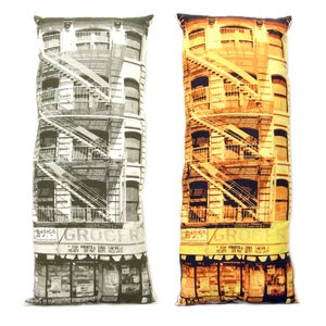 Image of Grocery 2 Building Pillow