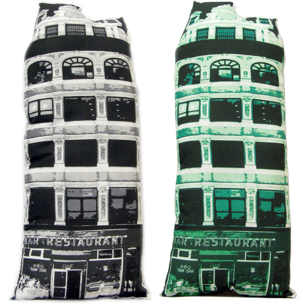 Image of Bar/Restaurant Building Pillow