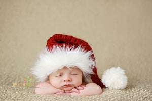 Image of Santa Baby Christmas Stocking Hat
