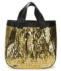 Image of Madison Tote - Gold Disco